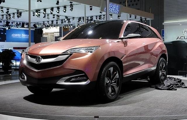 讴歌首款国产车型2016年推出图片