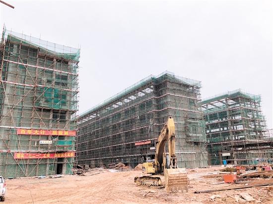 冯如小学工程建设已完成超过60%。