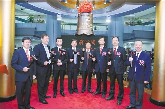 2011年7月26日,江门市科恒实业股份有限公司正式在深圳创业板发行上市。江海宣供图