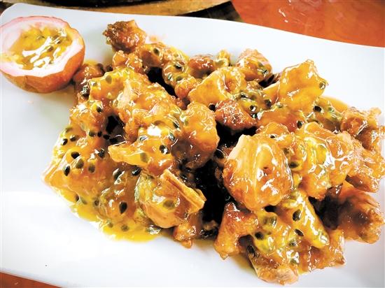 ↑此次美食兵团的菜式丰富。