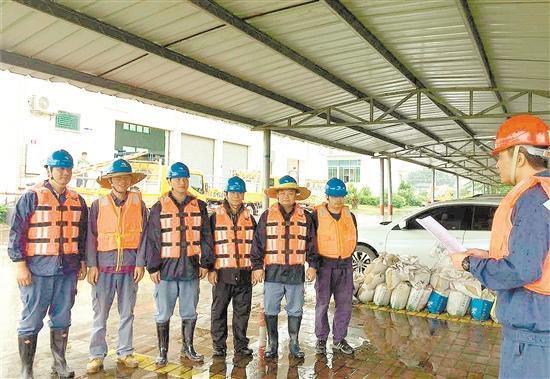 重视防风防汛 确保电网安全
