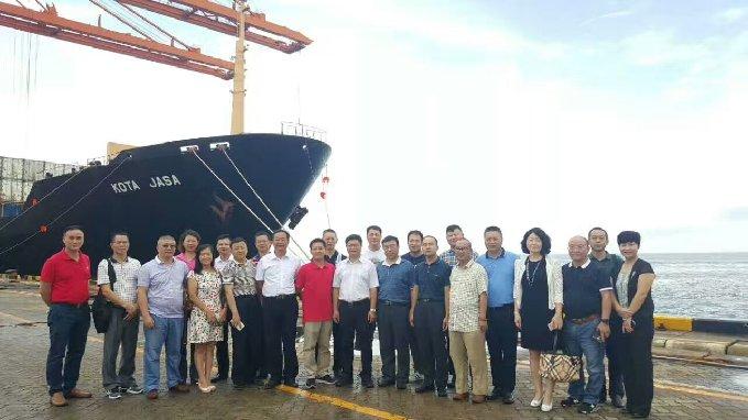 江门市民建企业家投资考察团到广西钦州考察