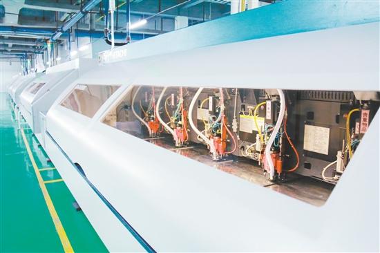 广东世运电路科技股份有限公司的pcb生产设备.