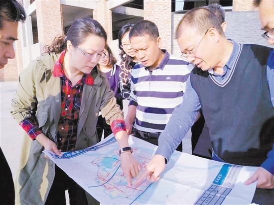 汤惠红实地调研明年重点城建项目 中国财经界 www.qbjrxs.com