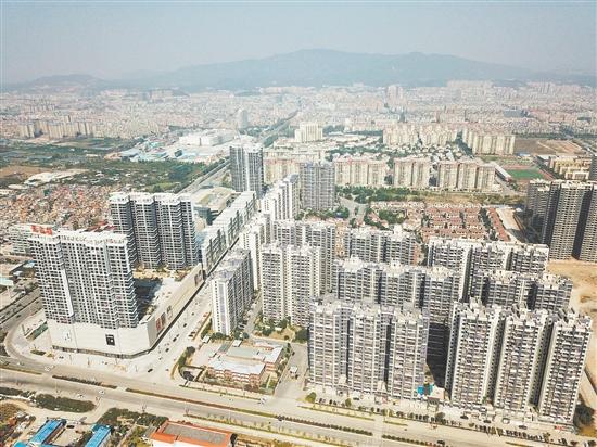 新会将高标准建设银湖湾滨海新城和珠西枢纽新城。图为珠西枢纽新城。