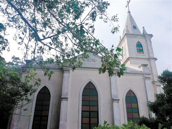 上川岛方济各教堂本体修缮完成。