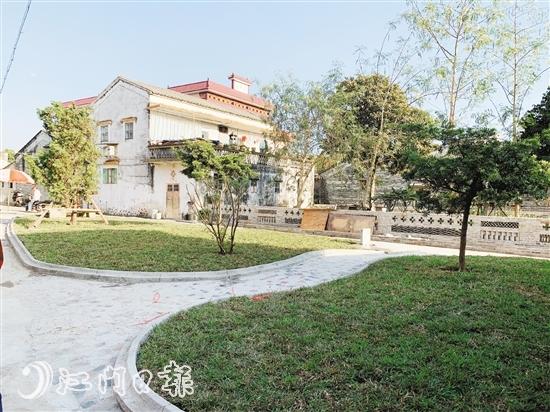 通过人居环境整治,石溪村的村容村貌焕然一新。